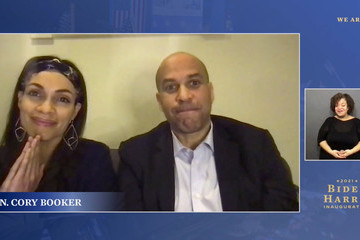 """Cory Booker """"We Are One"""" Inaugural Celebration"""