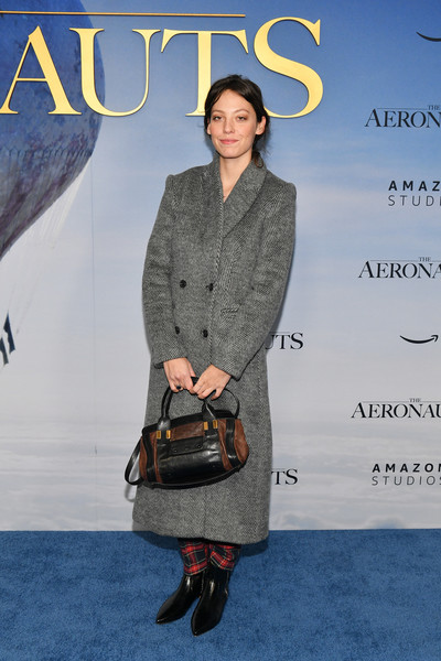 'The Aeronauts' New York Premiere [the aeronauts,clothing,fashion,pattern,footwear,outerwear,premiere,magazine,fashion show,bag,cory kennedy,new york,sva theater,premiere,new york premiere]