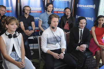 Cory Michael Smith Robin Lord Taylor SiriusXM's Entertainment Weekly Radio Channel Broadcasts from Comic-Con 2015
