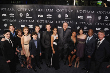 Cory Michael Smith Robin Lord Taylor 'Gotham' Premieres in NYC