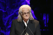 Ricky Skaggs speaks onstage during the 2018 Country Music Hall of Fame and Museum Medallion Ceremony honoring inductees Johnny Gimble, Ricky Skaggs and Dottie West at Country Music Hall of Fame and Museum on October 21, 2018 in Nashville, Tennessee.