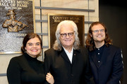 Ricky Skaggs (M) and family members attend the 2018 Country Music Hall of Fame and Museum Medallion Ceremony honoring inductees Johnny Gimble, Ricky Skaggs and Dottie West at Country Music Hall of Fame and Museum on October 21, 2018 in Nashville, Tennessee.
