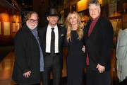 CAA's Rod Essig, Tim McGraw, Faith Hill, and CAA's John Huie attend the Country Music Hall of Fame and Museum's debut of the Tim McGraw and Faith Hill Exhibition on November 15, 2017 in Nashville, Tennessee.