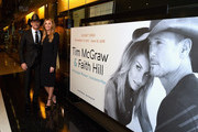 Tim McGraw and Faith Hill attend the Country Music Hall of Fame and Museum's debut of the Tim McGraw and Faith Hill Exhibition on November 15, 2017 in Nashville, Tennessee.