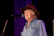 Billy Joe Shaver performs onstage for Country's Roaring '70s: Outlaws and Armadillos exhibition opening concert at Country Music Hall of Fame and Museum on May 25, 2018 in Nashville, Tennessee.