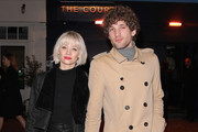 Kimberly Wyatt and Max Rogers attend The Court Members Club launch party on Kingly St on February 12, 2019 in London, England.