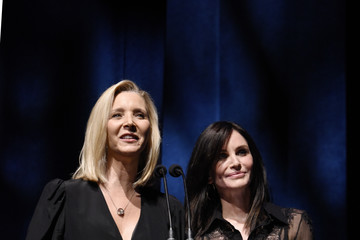 Courteney Cox Lisa Kudrow SAG-AFTRA Foundation's 4th Annual Patron Of The Artists Awards - Inside