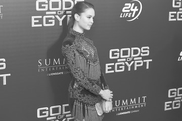 Courtney Eaton An Alternative View of the 'Gods of Egypt' New York Premiere
