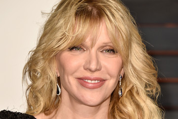 Courtney Love Arrivals at the Elton John AIDS Foundation Oscars Viewing Party — Part 5