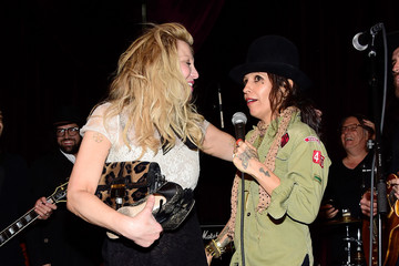 Courtney Love Linda Perry Celebration for the Song 'Hands of Love' from the Film 'Freeheld'