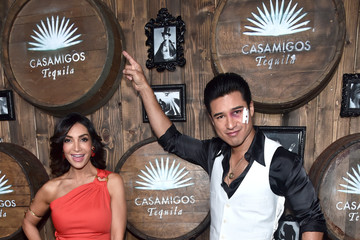 Courtney Mazza Celebs Attend the Casamigos Tequila Halloween Party