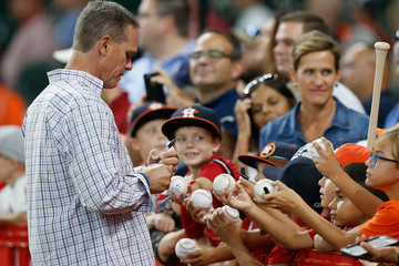 Craig Biggio St Louis Cardinals v Houston Astros