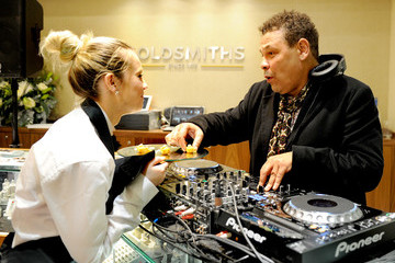 Craig Charles Rolex Lounge Launch At Goldsmiths, Liverpool ONE
