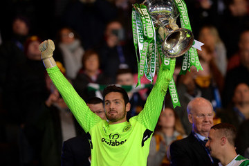 Craig Gordon Celtic v Motherwell - Betfred League Cup Final