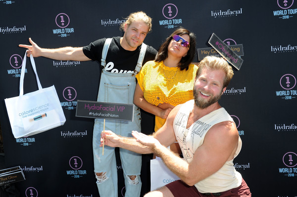 HydraFacial World Tour - Los Angeles [product,event,competition,mercedes ``mj javid,craig ramsay,jeremy madix,l-r,los angeles,venice,california,hydrafacial world tour]