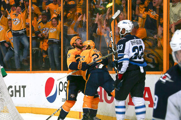 Craig Smith Winnipeg Jets vs. Nashville Predators - Game Two