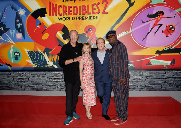 "Premiere Of Disney And Pixar's ""Incredibles 2"" - Red Carpet"
