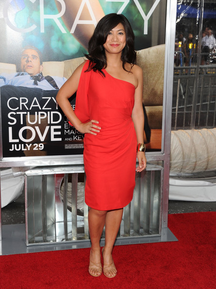 "Actress Liza Lapira attends the ""Crazy, Stupid, Love."" World Premiere at the Ziegfeld Theater on July 19, 2011 in New York City."