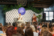Actress & Entrepreneur Shay Mitchell (L) and Editor-in-Chief of Allure Magazine Michelle Lee (R) at the Cultivate Conference At The House Of Vans In Chicago On August 25, 2018. Partners included Microsoft Teams, JCPenney, McDonald's and Comcast NBCUniversal.