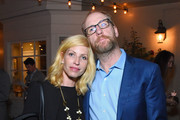 Morgan Walsh and Matt Walsh attend the Creative Coalition/Novocure Voices of Imapact Dinner on November 5, 2017 in Toluca Lake, California.
