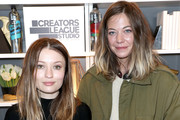 (L-R) Emily Browning and Analeigh Tipton attend the Creators League Studio At 2017 Sundance Film Festival - Day 5 at PepsiCo's Creators League Studio at the 2017 Sundance Film Festival on January 23, 2017 in Park City, Utah.