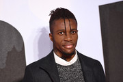 "Wilfried Zaha attends the European Premiere of ""Creed II"" at BFI IMAX on November 28, 2018 in London, England."