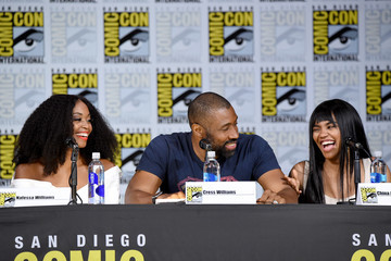 "Cress Williams Comic-Con International 2017 - ""Black Lightning"" Special Video Presentation And Q+A"