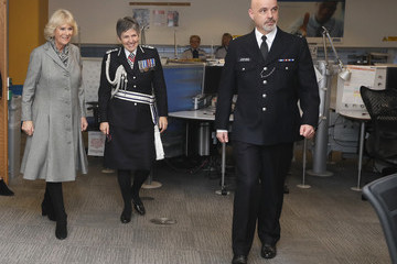 Cressida Dick The Duchess Of Cornwall Visits The Metropolitan Police Service