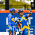 Sachin Tendulkar Virender Sehwag Photos - Sachin's Blasters player Sachin Tendulkar speaks to teammate Virender Sehwag during a match in the Cricket All-Stars Series at Citi Field on November 7, 2015 in the Queens Borough of New York City. - Cricket All-Stars Series - Citi Field