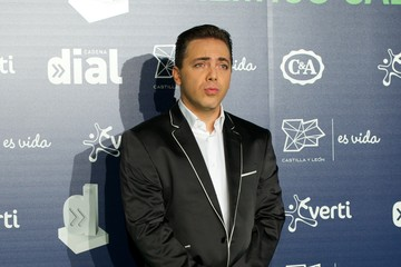 Cristian Castro Cadena Dial Awards in Valladolid