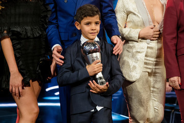 Cristiano Ronaldo Junior The Best FIFA Football Awards