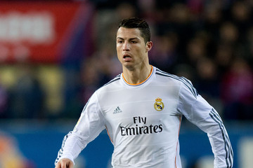 Cristiano Ronaldo Atletico Madrid v Real Madrid