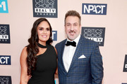 (L-R) Izabel Araujo and Joey Fatone attend the Critics' Choice Real TV Awards at The Beverly Hilton Hotel on June 02, 2019 in Beverly Hills, California.