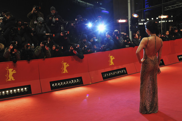 Alice Kim attends the 'The Croods' Premiere during the 63rd Berlinale International Film Festival at Berlinale Palast on February 15, 2013 in Berlin, Germany.