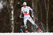 Marcus Hellner of Sweden competes during the Men's 15km Cross-Country during the FIS Nordic World Ski Championships at the Lugnet venue on February 25, 2015 in Falun, Sweden.