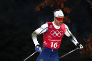 Marcus Hellner of Sweden competes during the Cross Country Men's Team Sprint Free semi final on day 12 of the PyeongChang 2018 Winter Olympic Games at Alpensia Cross-Country Centre on February 21, 2018 in Pyeongchang-gun, South Korea.