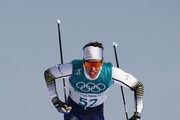 Marcus Hellner of Sweden competes during the Cross-Country Skiing Men's 15km Free at Alpensia Cross-Country Centre on February 16, 2018 in Pyeongchang-gun, South Korea.
