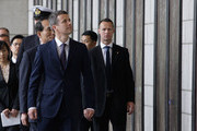 Prince Frederik of Denmark visits at the War Memorial of Korea on May 10, 2012 in Seoul, South Korea. The Crown Prince and Crown Princess of Denmark are on a six-day visit to South Korea.