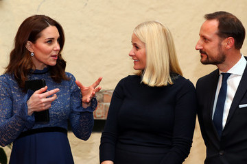 Crown Prince Haakon The Duke and Duchess of Cambridge Visit Sweden and Norway - Day 3