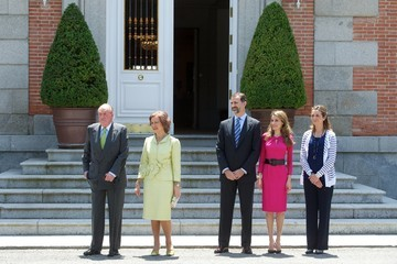 Crown Prince Naruhito King Felipe VI of Spain Spanish and Japanese Royals Meet for Lunch