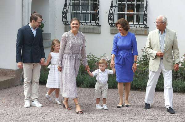 The Crown Princess Victoria Of Sweden's Birthday Celebrations