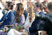 Prince Carl Philip of Sweden, Princess Sofia of Sweden, Princess Madeleine of Sweden and her husband Chris O'Neill during the occasion of The Crown Princess Victoria of Sweden's 41st birthday celebrations at Borgholm Sports Arena on July 14, 2018 in Oland, Sweden.