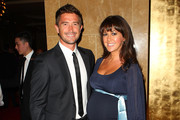 Harry Kewell and his wife actress Sheree Murphy pose during the launch of the upgraded and expanded Mahogany Room at the Crown on October 27, 2011 in Melbourne, Australia.