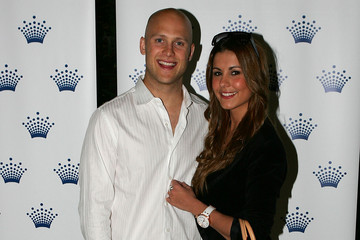 Lauren Phillips Gary Ablett Crown's Tennis Players' Party
