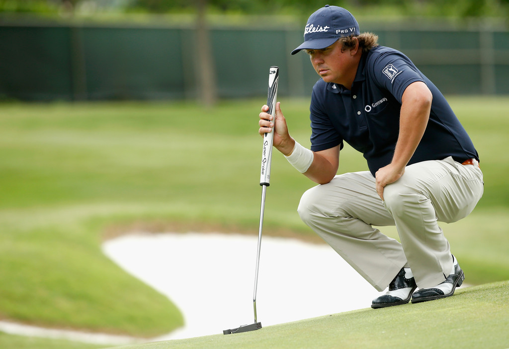 Disappearing Jason Dufner Clings to Dip Bottle for Dear