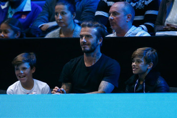 Cruz Beckham Barclays ATP World Tour Finals - Day Seven