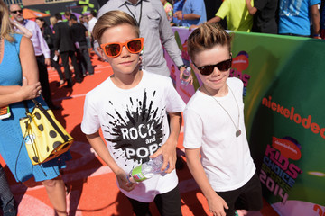 Cruz Beckham Arrivals at the Nickelodeon Kids' Choice Sports Awards — Part 2