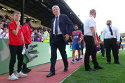 Roy Hodgson, Manager of Crystal Palace looks dejected following his sides defeat in the Premier League match between Crystal Palace and Southampton FC at Selhurst Park on September 1, 2018 in London, United Kingdom.