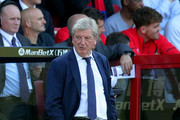 Roy Hodgson, Manager of Crystal Palace looks on during the Premier League match between Crystal Palace and Southampton FC at Selhurst Park on September 1, 2018 in London, United Kingdom.