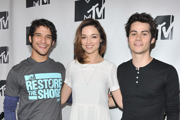 """Crystal Reed Dylan O'Brien MTV's """"Restore The Shore"""" Jersey Shore Benefit"""